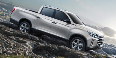 New SsangYong Musso from £19,795 <span>ex VAT</span>