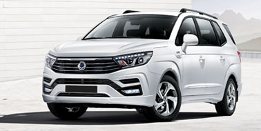 New SsangYong Turismo from £19,995
